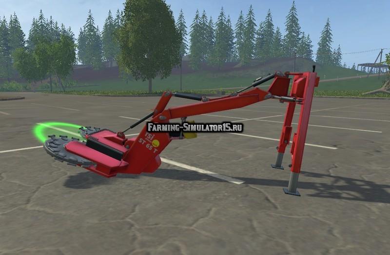 Мод корчеватель FSI Beaver V 1.0 Farming Simulator 2015