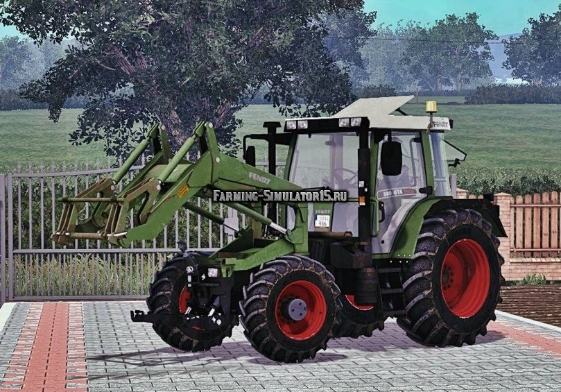 Мод трактор Fendt 380 GTA Turbo FL v 2.0 Farming Simulator 2015