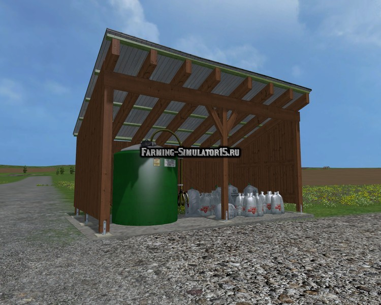 Мод Placeable Liquid Fertilizer Station v1.0 Farming Simulator 2015