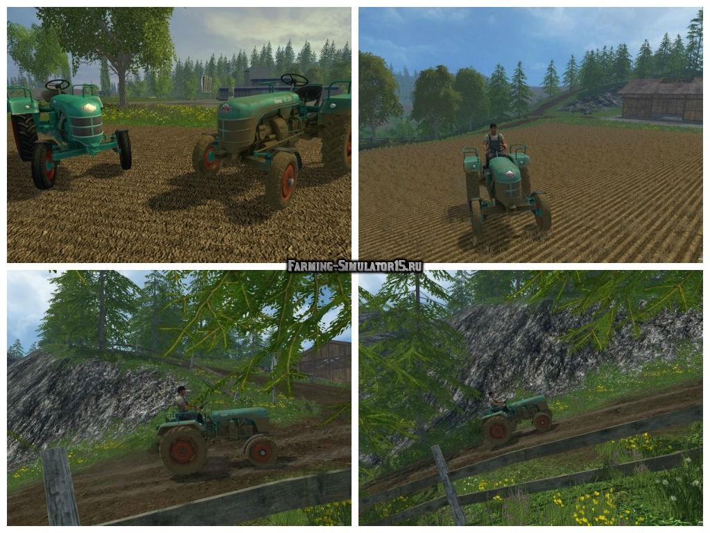 Мод трактор Kramer KL200 v 2.1 Farming Simulator 2015