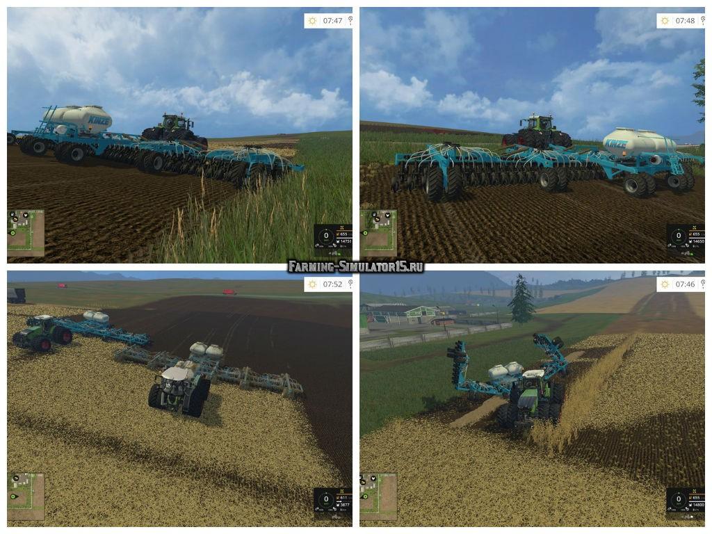 Мод Kinze 22m Seed Fertilizer Combination v 1.0 Farming Simulator 2015