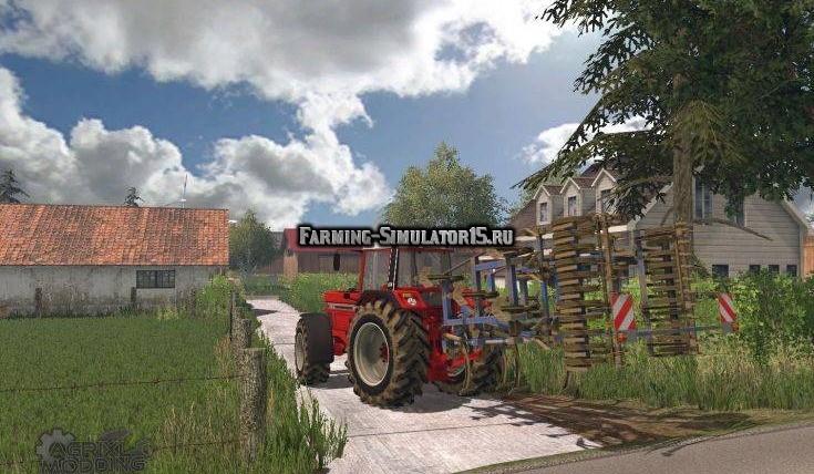 Мод культиватор Koeckerling Trio 400 v 1.0 Farming Simulator 2015