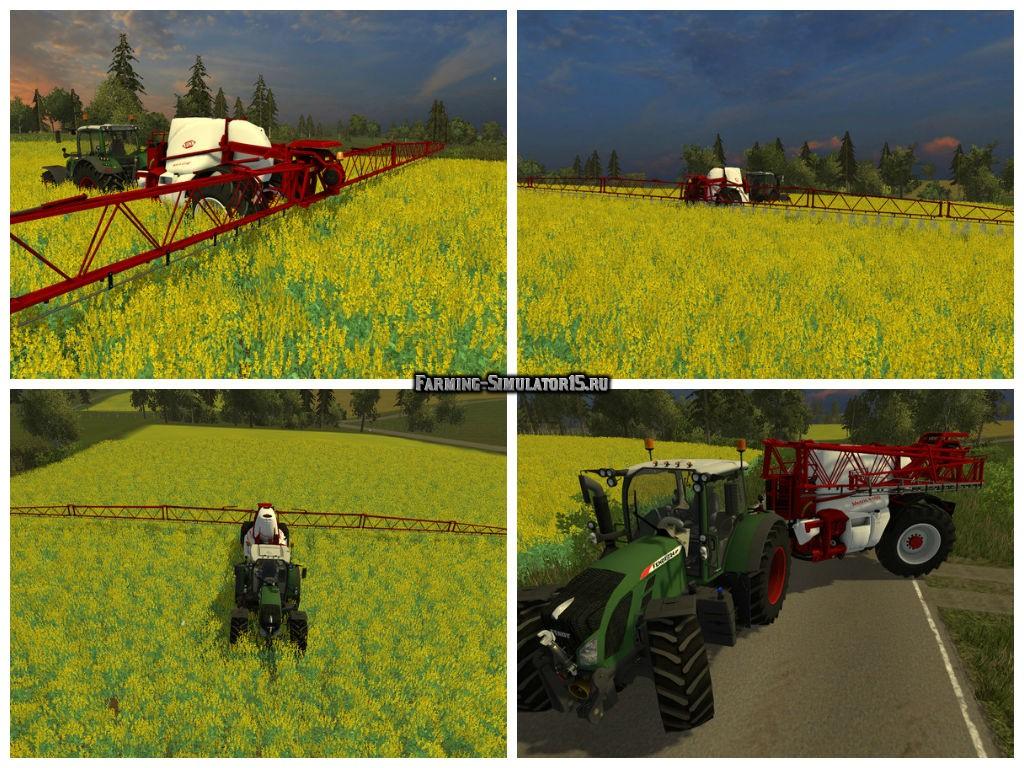 Мод опрыскиватель Kuhn Matris 4100 v 1.1 Farming Simulator 15