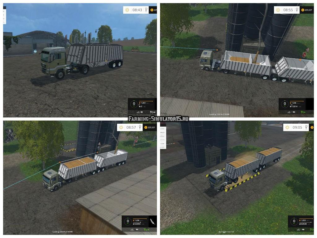 Мод прицепы Merritt Superbee v2.0 Farming Simulator 15