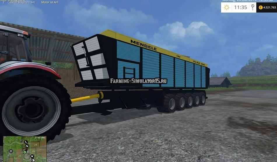 Мод прицеп Mengele Silo Bull v 1.0 Farming Simulator 2015