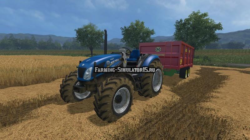 Мод трактор New Holland T475 v 1.0 Farming Simulator 2015