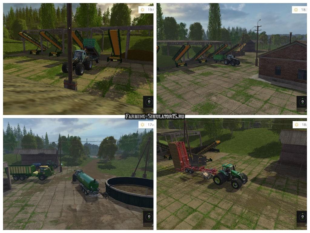 скачать конвейерную ленту для farming simulator 2015