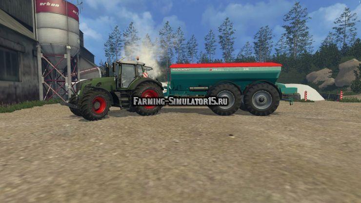 Мод опрыскиватель Sulky Polyvrac D240 v 1.0 Farming Simulator 15