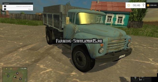 Мод грузовик ЗИЛ ZIL 130 V1.0 Фарминг Симулятор 2015