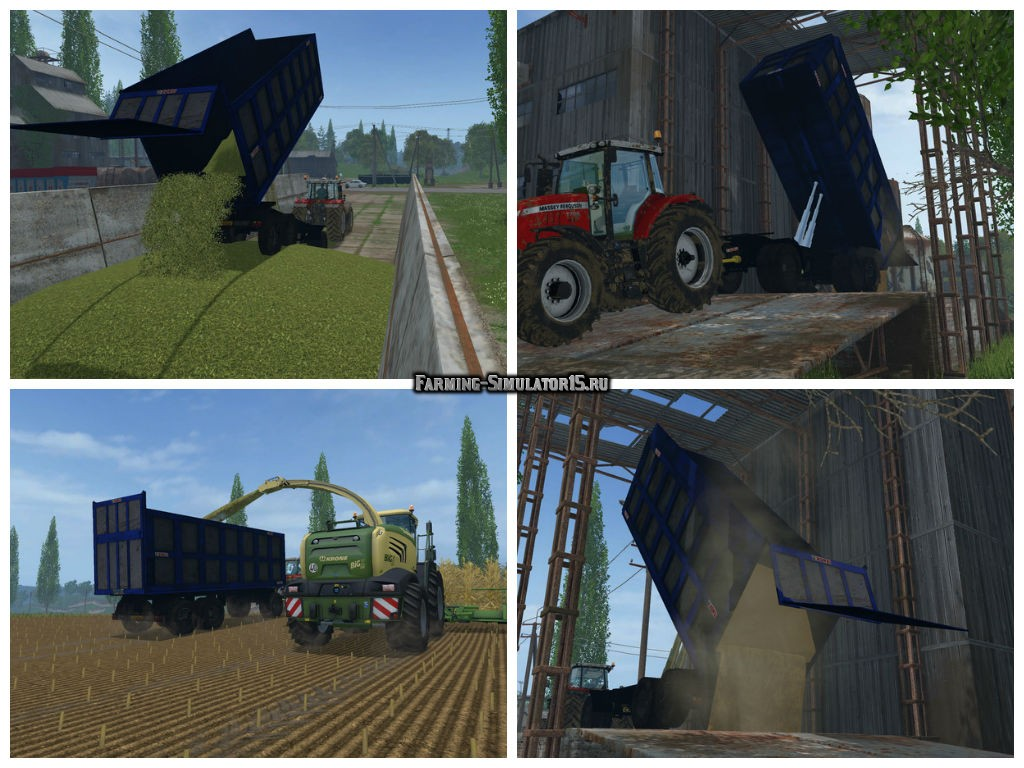Мод прицеп Zorzi Old Trailer v 1.0 Beta Farming Simulator 15