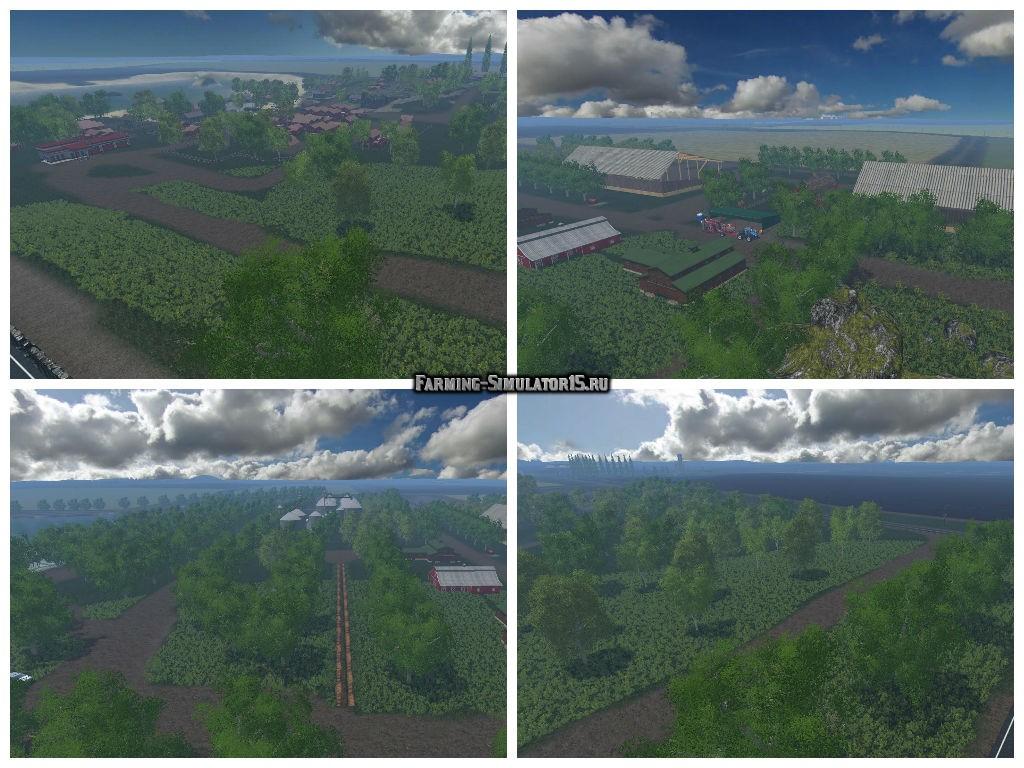 Скачать Карту Baxley Для Farming Simulator 2015 - фото 3