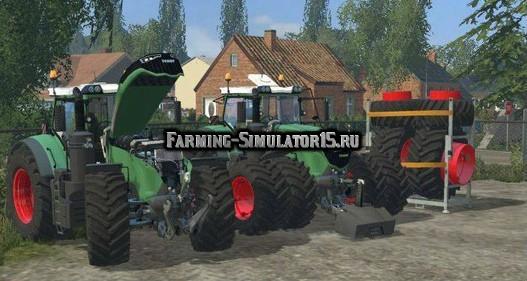 Мод трактор Fendt 1050 Vario Grip v 4.1 Farming Simulator 2015