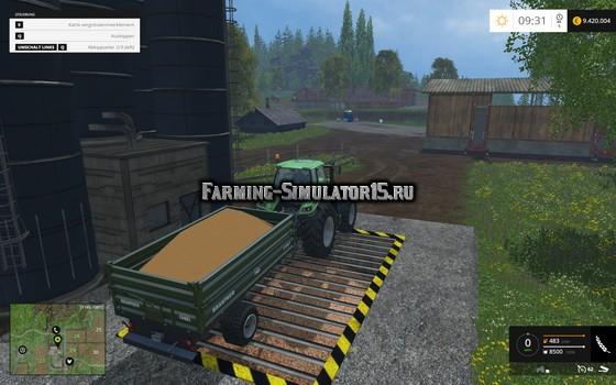 Мод скрипт ToggleTipSide v 1.15 Farming Simulator 15