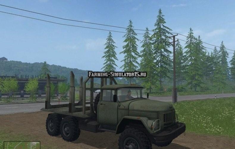 Мод грузовик ЗИЛ-131 Forest Фарминг Симулятор 2015