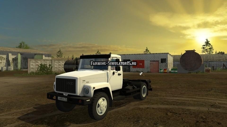 Мод грузовик ГАЗ GAZ SAZ 35071 v 3.0 Fix Фермер Симулятор 2015