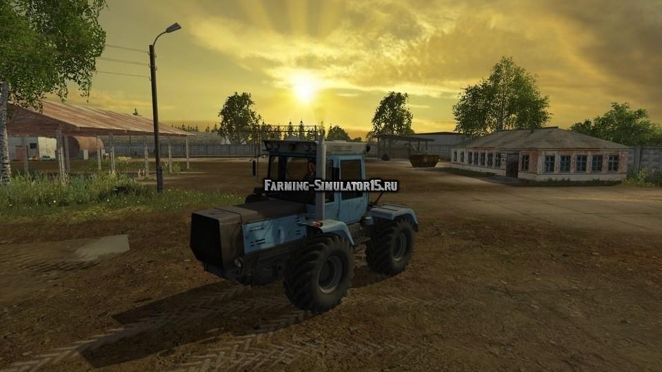 Мод трактор ХТЗ HTZ 17221 v 2.5 Фермер Симулятор 2015