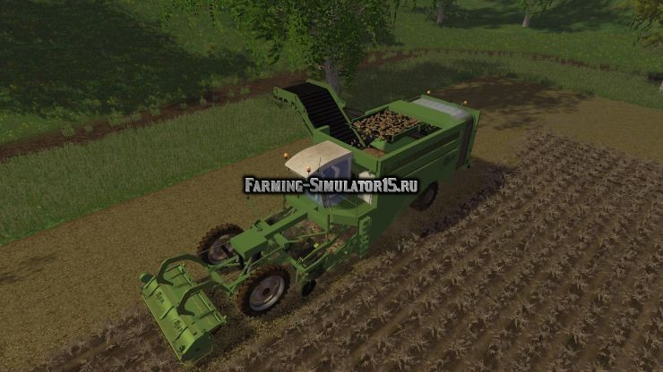 Мод комбайн AVR Puma v 1.0 Farming Simulator 2015