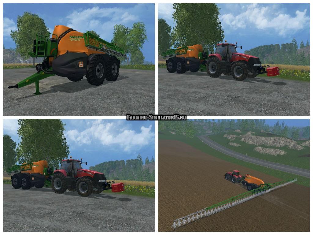 Мод опрыскиватель Amazone UX 11200 v 1.0 Farming Simulator 2015