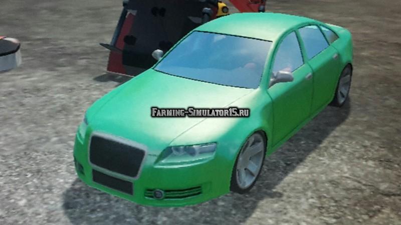 Мод автомобиль Audi A6 v 1.1 Farming Simulator 2015