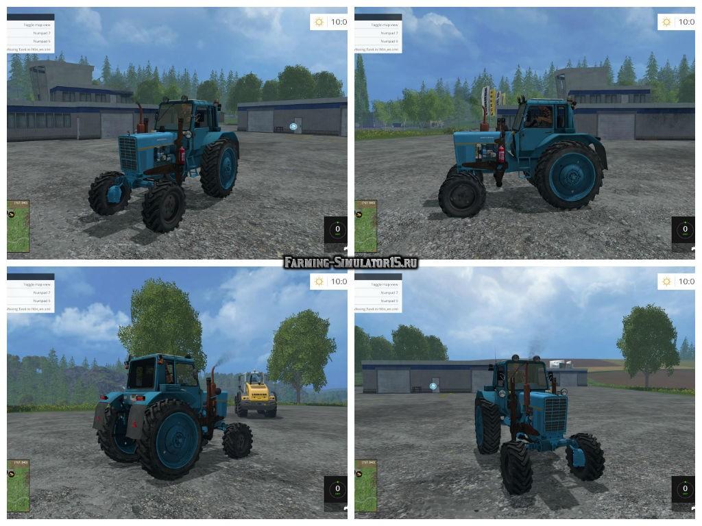 Трактор МТЗ 82 (Беларус)