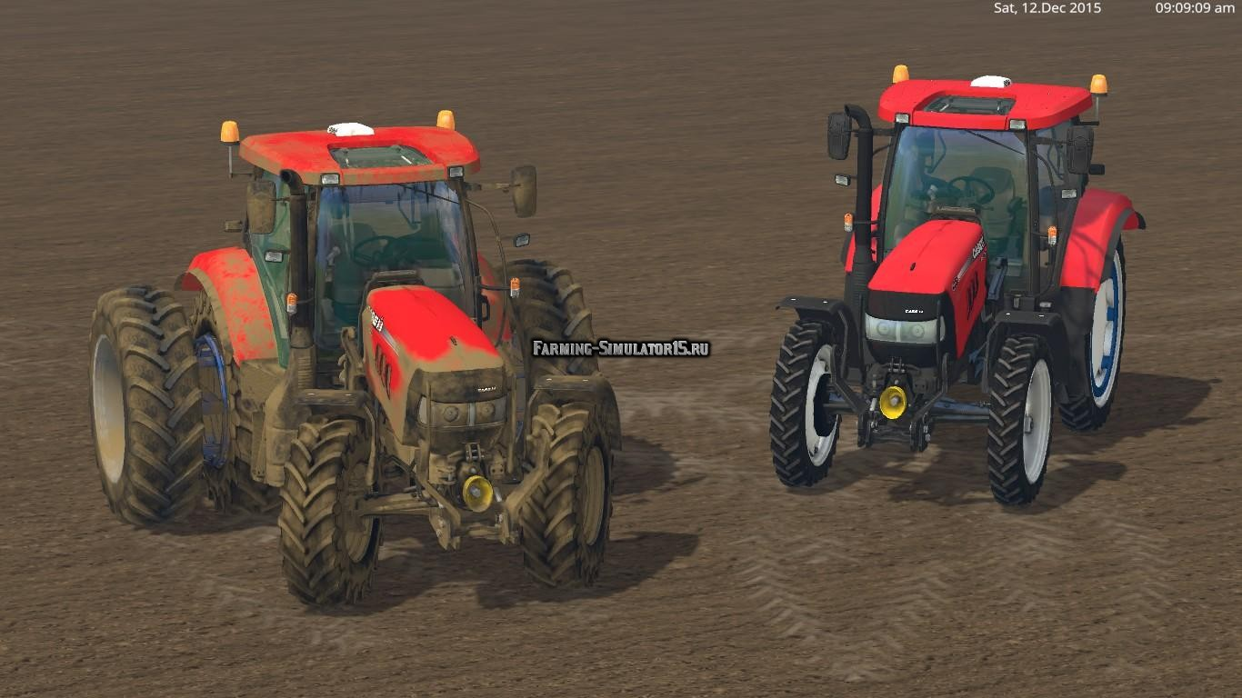 Мод трактор CASE IH MAXXUM 140 MC v 1.0 Final Farming Simulator 2015