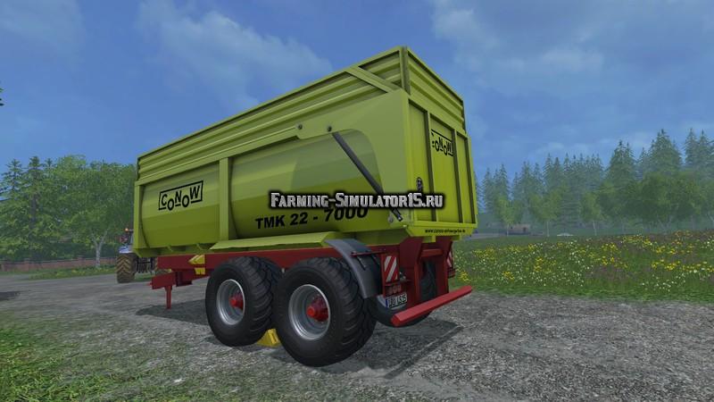 Мод прицеп Conow TMK 22 7000 v 1.0 Farming Simulator 2015