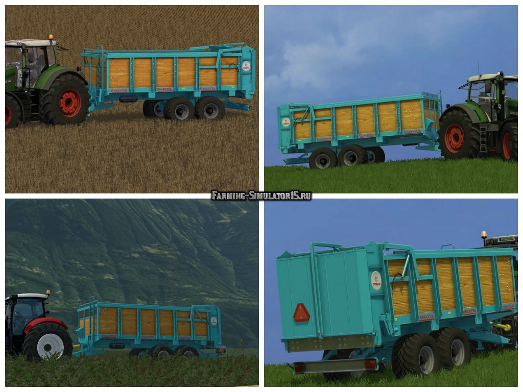 Мод прицеп Crosetto Marene v 2.0 Farming Simulator 15