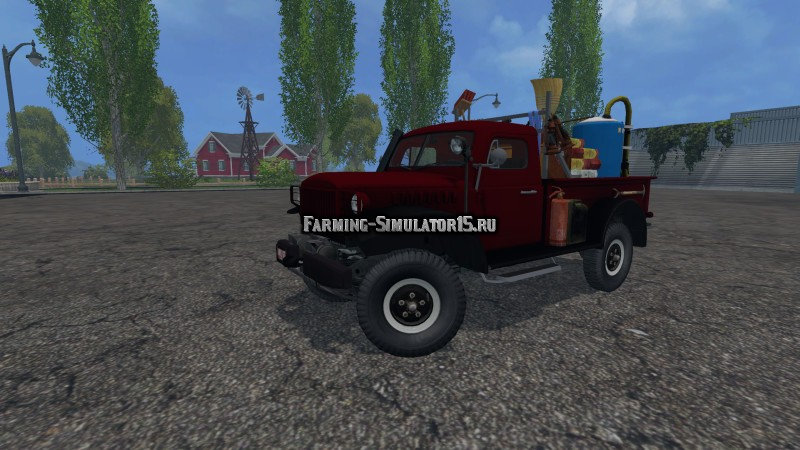 Мод грузовик Dodge Powerwagon Service v 1.0 Farming Simulator 15