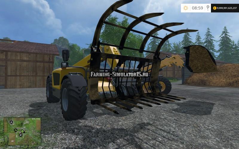 Мод вилы Dymax Grab v 1.0 Farming Simulator 2015