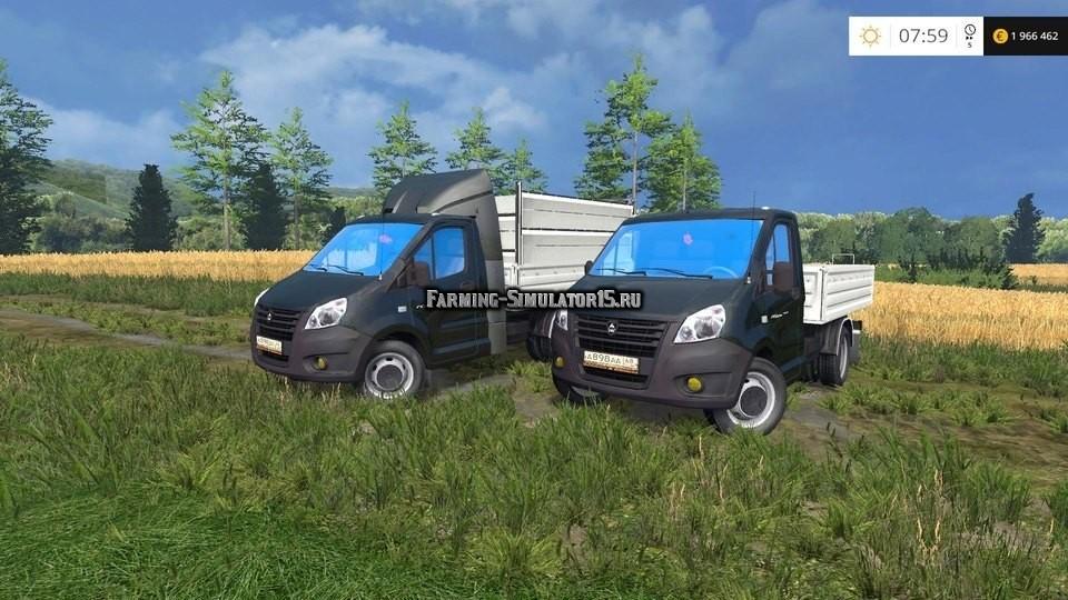 Мод грузовик ГАЗель NEXT Фермер Симулятор 2015