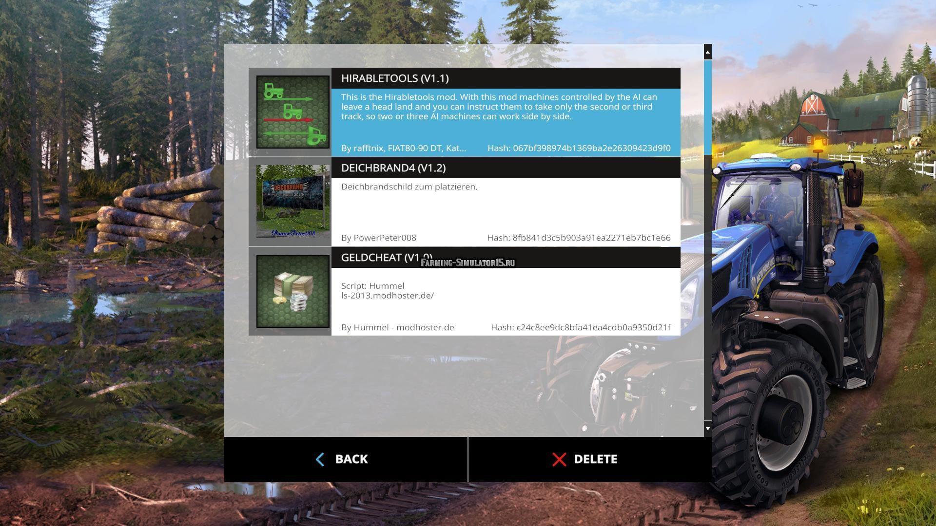 Как сделать моды на farming simulator 117