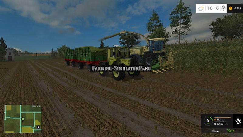 Мод прицеп Hawe SLW 20 v 1.0 Farming Simulator 2015