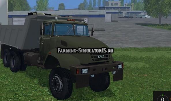 Мод грузовик КРАЗ KRAZ V18 v 1.0.1 Фарминг Симулятор 2015