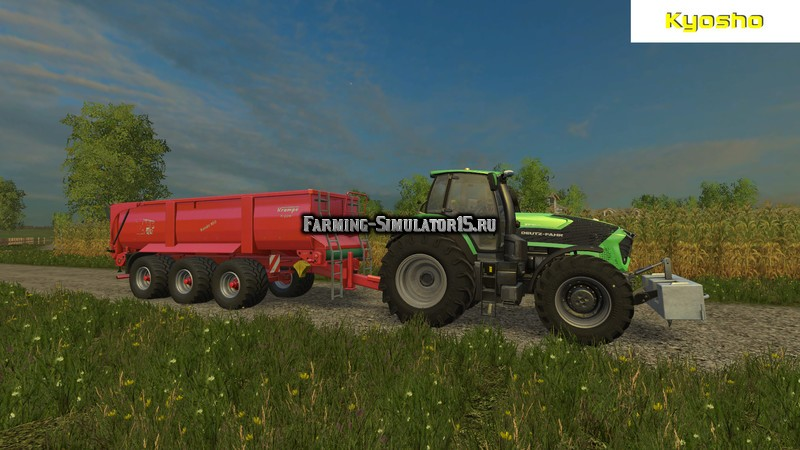 Мод прицеп Krampe Bandit 800 v 2.0 Farming Simulator 2015