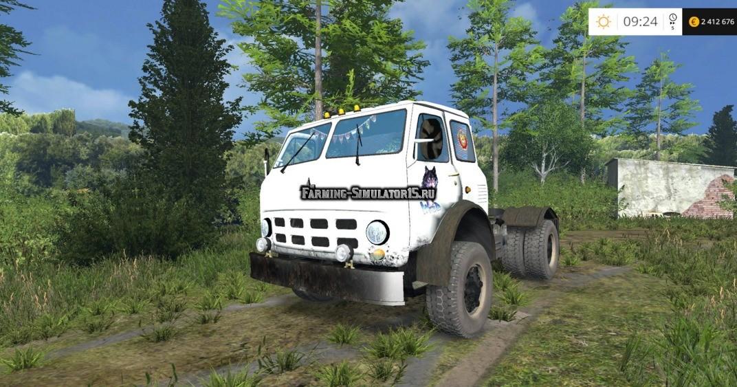 Мод грузовик МАЗ Maz 504 v 1.0 Фермер Симулятор 2015
