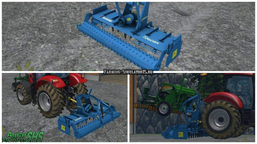 Мод культиватор Rabe Toucan 3000SL v 4.0 Final Farming Simulator 2015