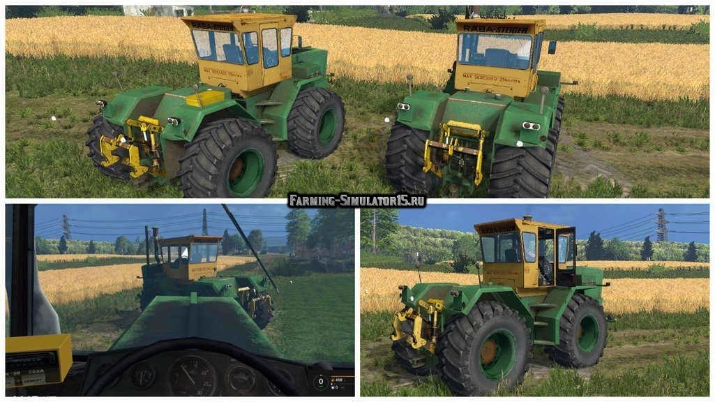Мод трактора Raba 250 Steiger v2.1 Farming Simulator 2015
