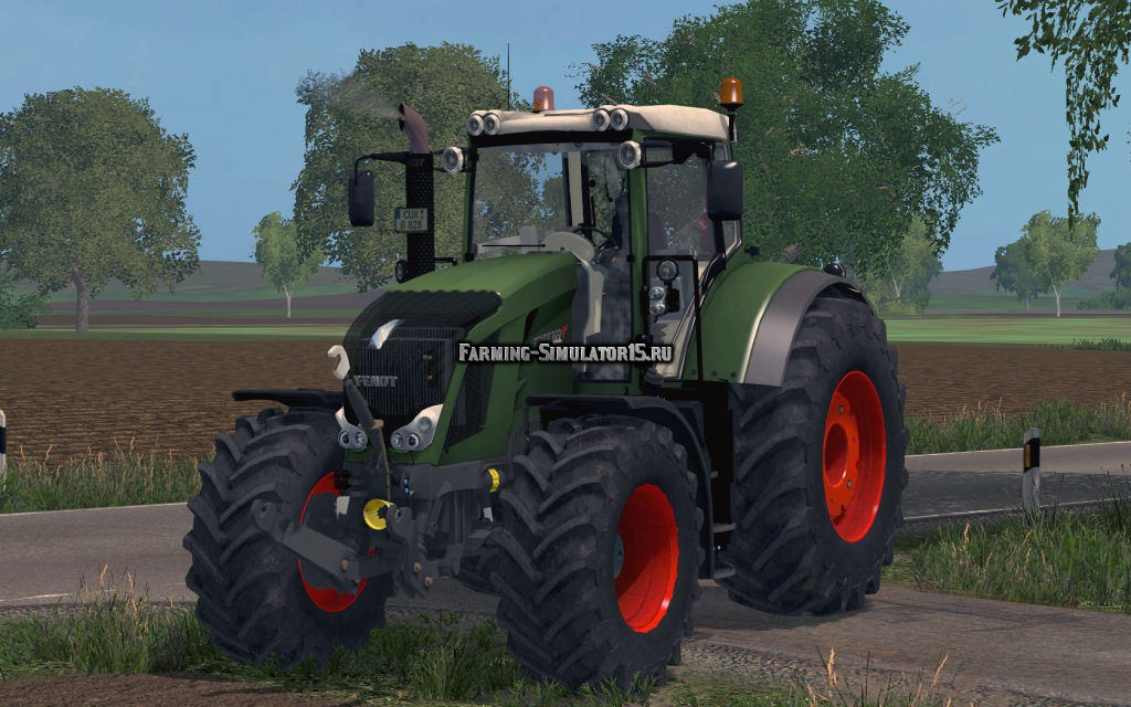 Мод трактор Fendt 822 Vario v 1.0 Farming Simulator 2015
