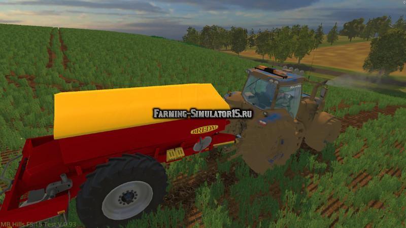 Мод опрыскиватель Bredal K85 v 0.9 Farming Simulator 2015