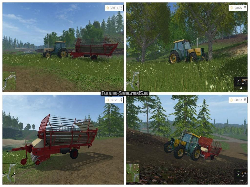 Мод Buehrer and Krone 2500 v 1.0 Farming Simulator 15