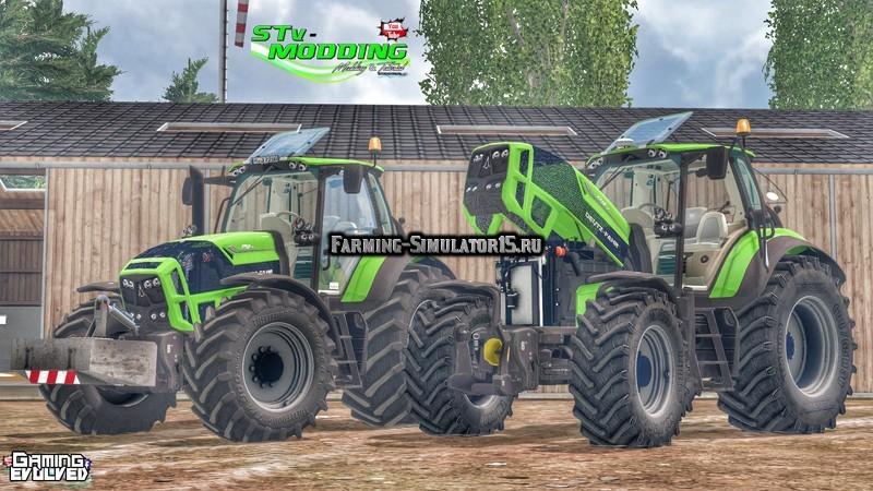Мод трактора Deutz Fahr TTV 7210 & 7250 v 4.0 Farming Simulator 15