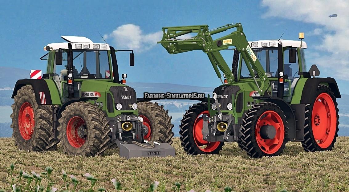 Мод трактор Fendt 818FL/820 VARIO TMS Farming Simulator 2015