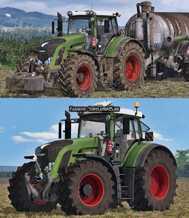 Мод трактор Fendt 927 Vario Full Washable v 1.0 Farming Simulator 15
