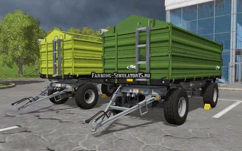 Мод прицепы Fliegl DK 180-88 Farming Simulator 2015
