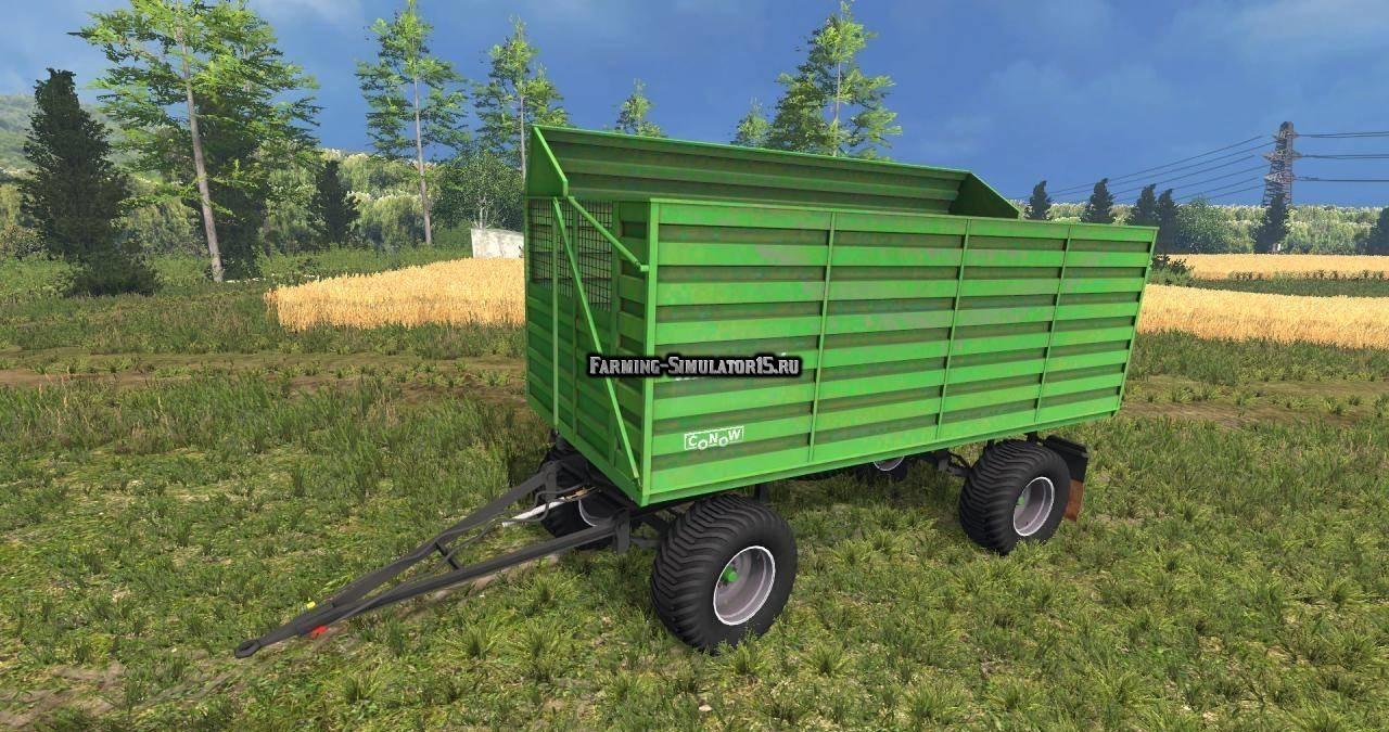 Мод прицеп Fortschritt HW80 SHA v1.0 Farming Simulator 2015