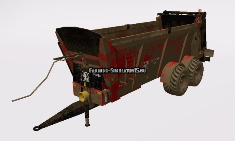 Мод прицеп Gilibert Herax 20 v 1.1 Farming Simulator 15