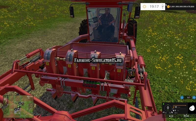 Мод сеялка Grimme GL420 Mini v 1.0 Farming Simulator 15