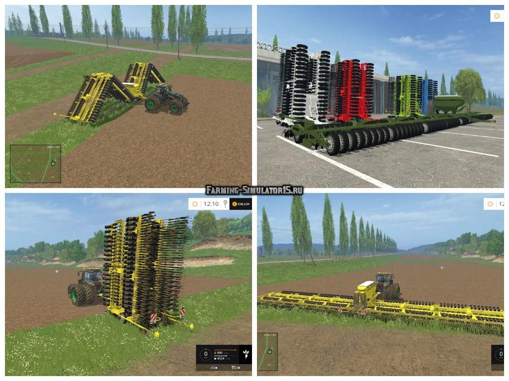 Мод сеялка HORCH PRONTO 26 DC V 2.0 Farming Simulator 15