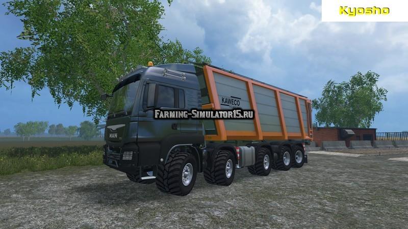 Мод грузовик MAN TGS Agrar 10×8 v 1.0 Farming Simulator 15