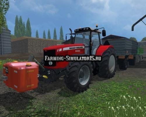Мод трактор Massey Ferguson 6495 Dyna 6 v 2.0 Farming Simulator 15
